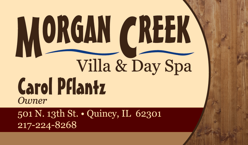 Morgan Creek Villa Business Cards