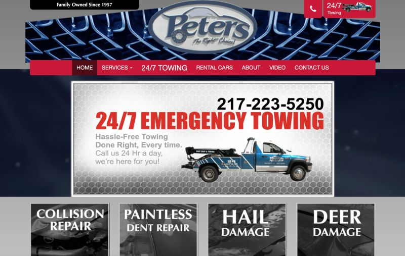 Peter's Body Shop & Towing